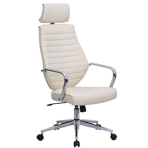 Clyde Faux Leather Executive Office Chair