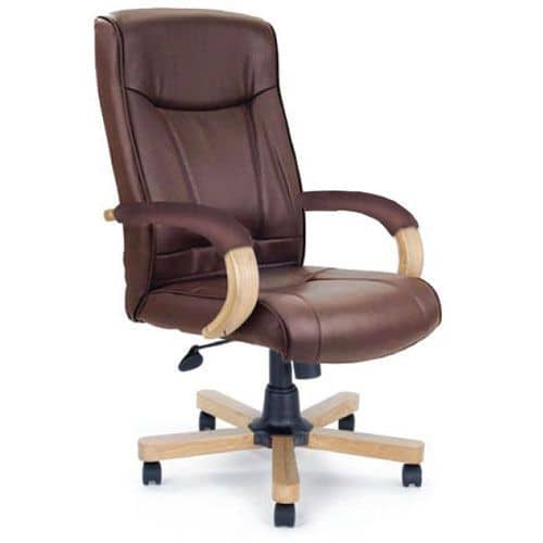 Amazon High Back Leather Managers Chair