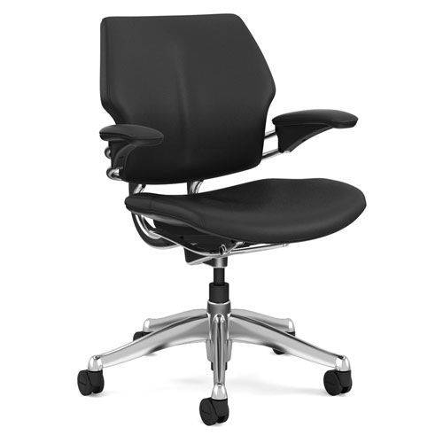 free shipping 72e26 62844 Humanscale Freedom Task Chair | Leather Office Chairs | Manutan UK