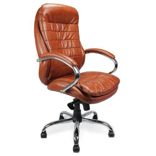 Seine High Back Leather Chair