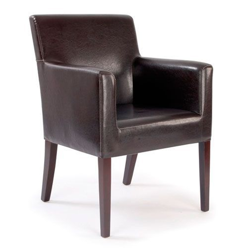 Metro Cubed Leather Chair
