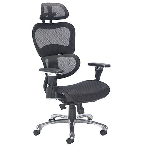 Moon High Back Mesh Office Chair Lumbar Design Key