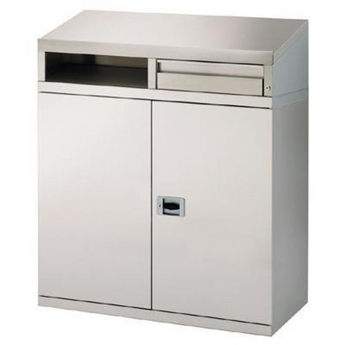 Stainless Steel Workstation for Clean Areas HxWxD 1040x880x450mm