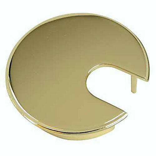 Metal Cable Tidy - 62mm - Polished Brass