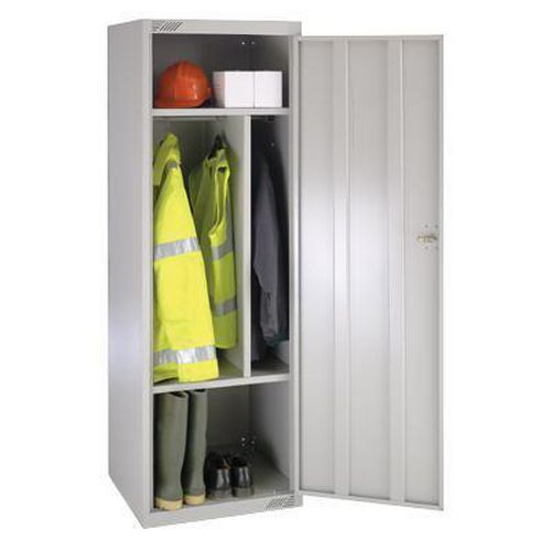 Large Volume Lockers with Dividers & Antibacterial Technology