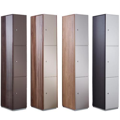 Executive Lockers 3 Door - 1800x380x380mm