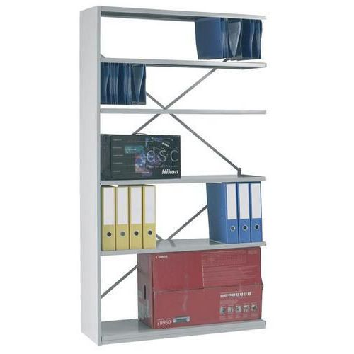 Stormor Duo - Double Skin Steel Shelving Extension Bay