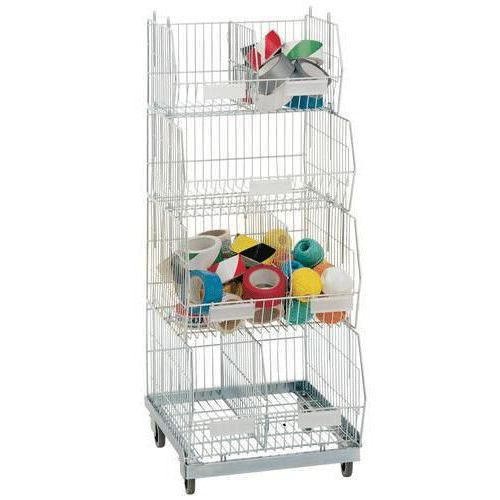 Accessories for Bright Zinc Wire Display Baskets