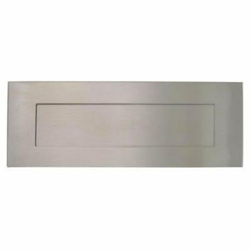 Altro Outer Letter Plate - 330 x 100mm - Satin Stainless Steel