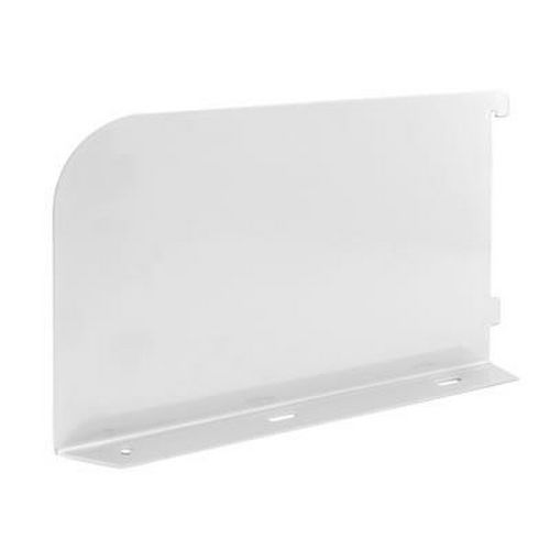 elfa Book Ends/Shelf Ends - 300mm White