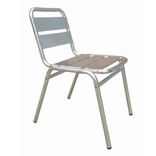 Aluminium Bistro Side Chair