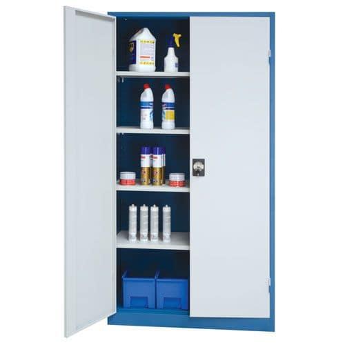 Multi-Purpose Metal Storage Cupboards - 1950x1000x450mm