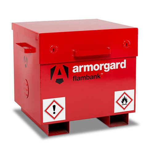 Armorgard Flambank COSHH Flammable Storage Site Box 670x765x675mm