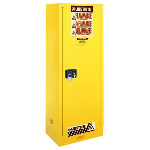 Slim Line Flammable Material Storage Cabinet - 1651x591x457mm