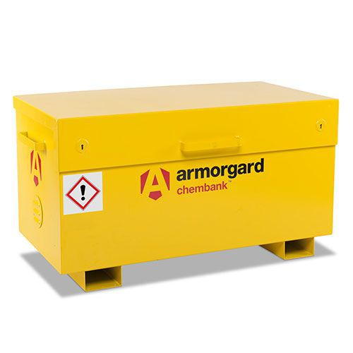Armorgard Chembank COSHH Chemical Storage Site Box 660x1275x665mm