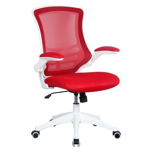 Luna White Frame Designer Mesh Chair