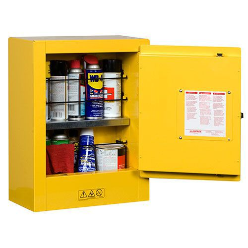 Justrite Mini Flammable Storage Cabinet