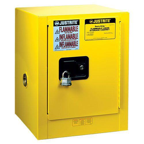 Justrite Self Close Countertop Flammable Storage Cabinet