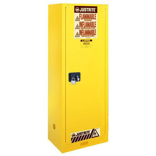 Justrite Slimline Self Close Flammable Storage Cabinet
