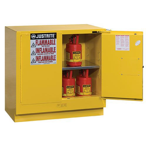Justrite Under Counter Self Close Flammable Cabinet