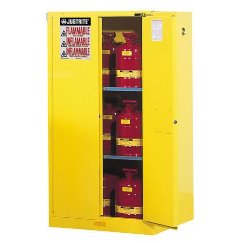 Justrite Self Close Flammable Storage Cabinet 1651x864x864mm