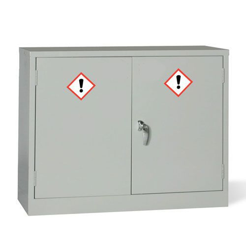 COSHH Hazardous Chemical Storage Cabinet - HxW 710x915mm