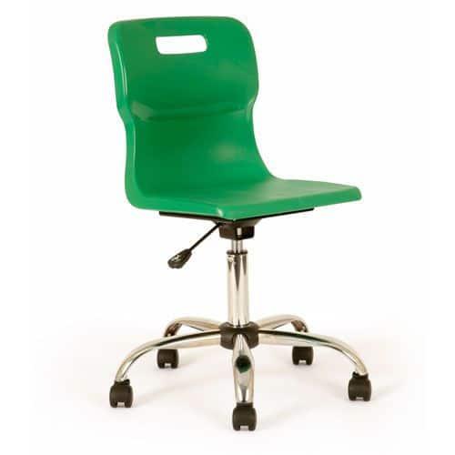 Titan Swivel Chair 11+ Years with Castors