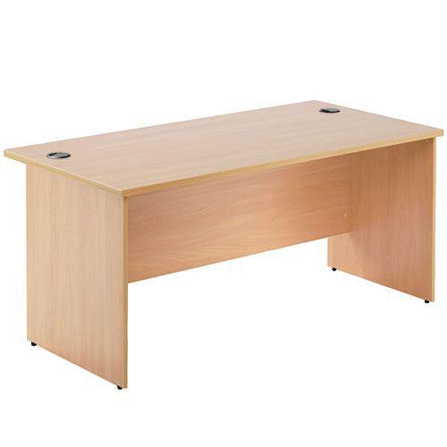 Oxford One Panel Straight Desks
