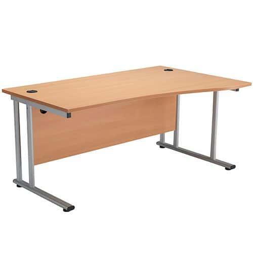 Oxford Cantilever Wave Desks