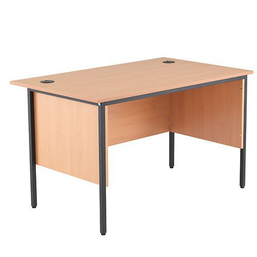Harley Straight Desk with Side Panels