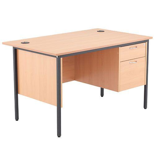 Harley Straight Desks with Pedestals