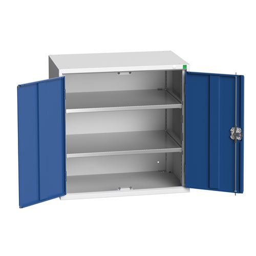Bott Verso 2 Shelf Metal Storage Cupboard WxD 800x550mm