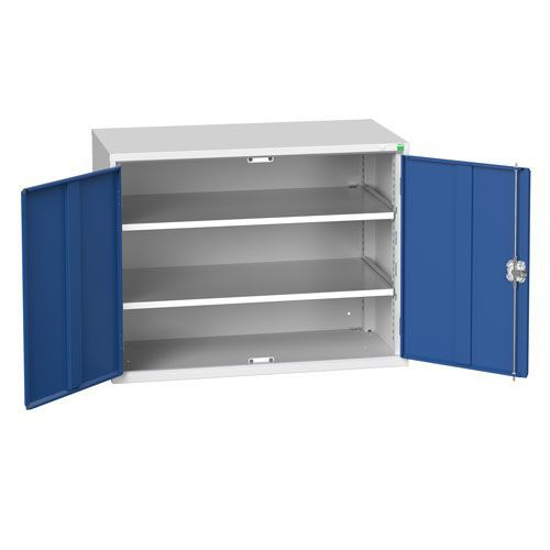 Bott Verso 2 Shelf Metal Storage Cupboard WxD 1050x550mm