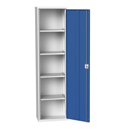 Bott Verso 4 Shelf Metal Storage Cupboard HxWxD 2000x525x350mm