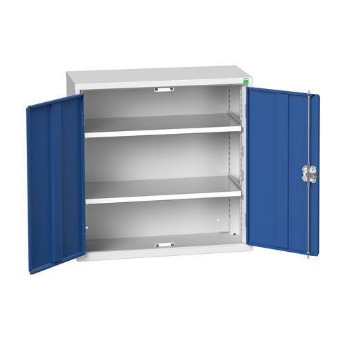 Bott Verso 2 Shelf Metal Storage Cupboard WxD 800x350mm
