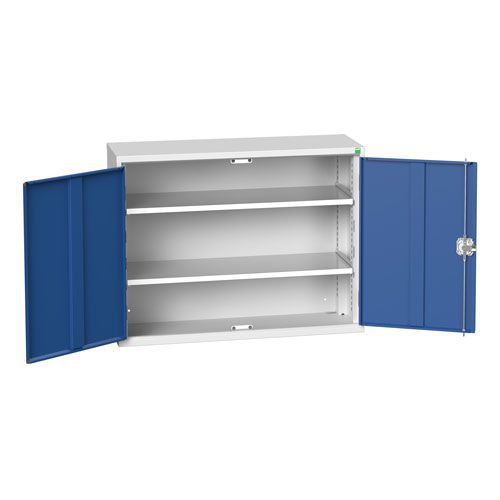 Bott Verso 2 Shelf Metal Storage Cupboard WxD 1050x350mm