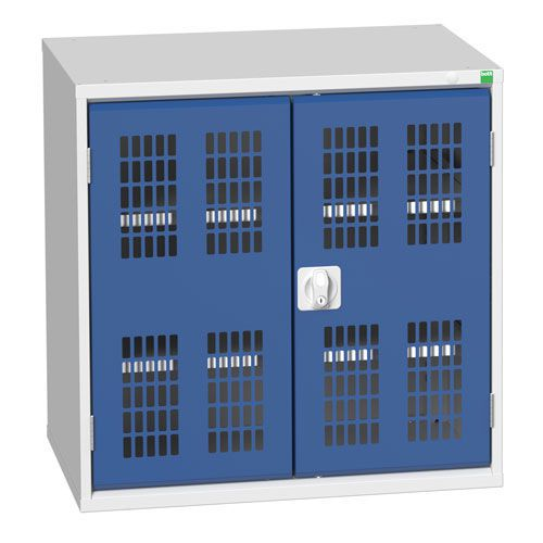 Bott Verso 2 Shelf Ventilated Metal Storage Cupboard WxD 800x550mm