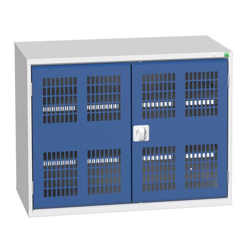 Bott Verso 2 Shelf Ventilated Metal Storage Cupboard WxD 1050x550mm