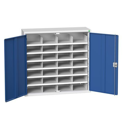 Bott Verso Pigeon Hole Metal Storage Cupboards. 21-60 Compartments