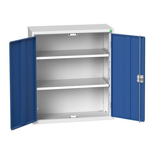Bott Verso 2 Shelf Wall Mounted Metal Cabinet HxW 1000x800mm
