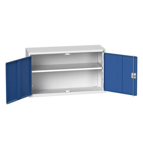 Bott Verso 1 Shelf Wall Mounted Metal Cabinet HxW 600x1050mm