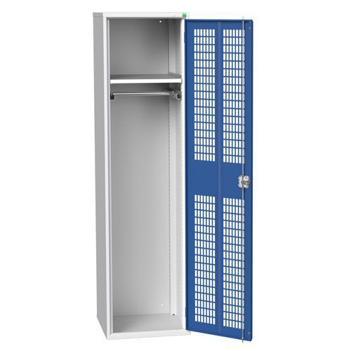 Bott Verso Ventilated PPE Cupboard With Shelves HxW 2000x525mm