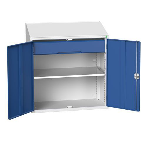 Bott Verso Lectern Metal Cabinet With Shelf And Drawer HxW 1130x1050mm