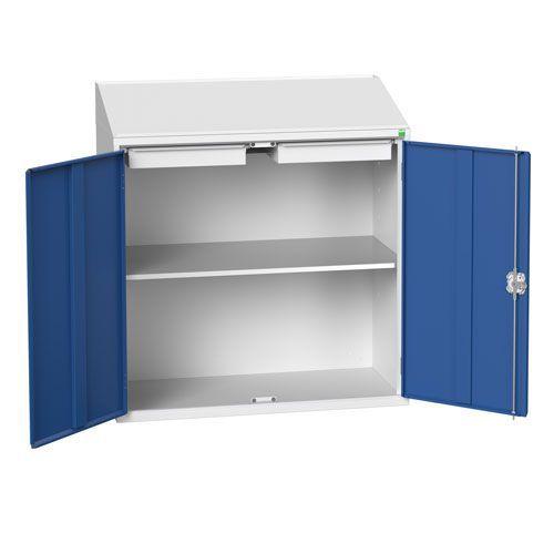 Bott Verso Shelf And 2 Drawer Lectern Metal Cabinet HxW 1130x1050mm