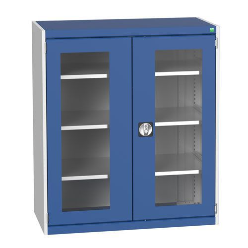 Bott Cubio Metal Cabinet With Vision Doors 1200x1050mm