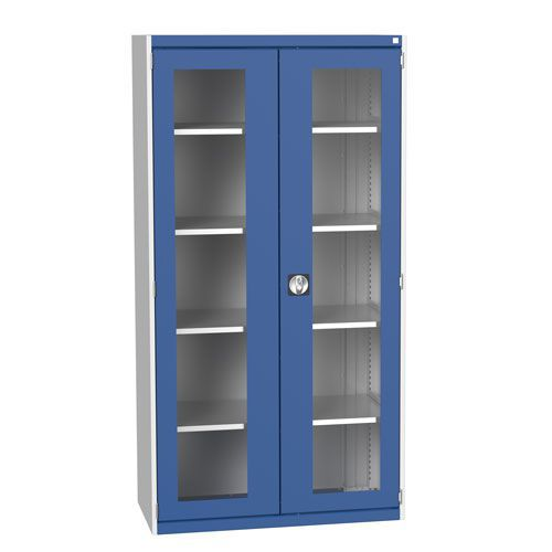 Bott Cubio Metal Cabinet With Vision Doors 2000x1050mm