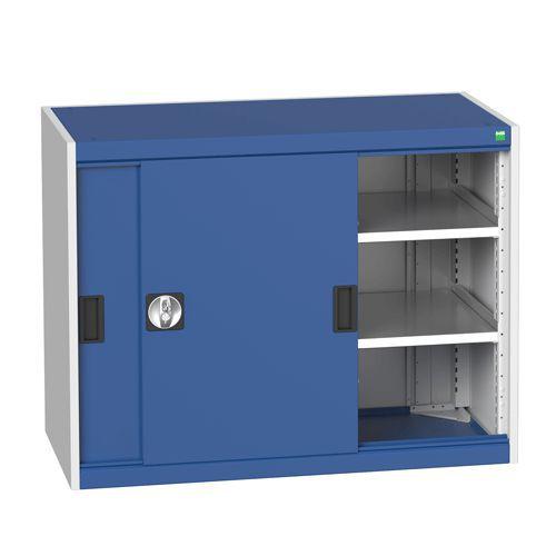 Bott Cubio Sliding Door Metal Storage Cabinet HxW 800x1050mm