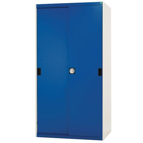 Bott Cubio Sliding Door Metal Storage Cabinet WxD 2000x525mm