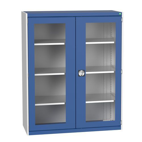 Bott Cubio Metal Cabinet With Vision Doors 1600x1300mm