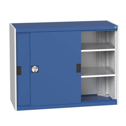 Bott Cubio Sliding Door Metal Storage Cabinet HxW 1000x1300mm